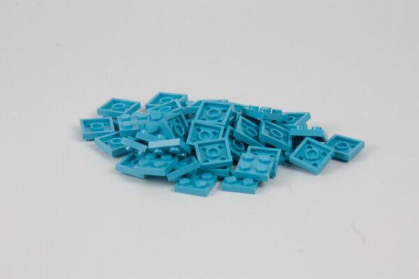 Bolso Lego Bloques Pack 2x2 Azul Turquesa