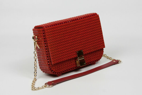 Bolso Lego Clip Bag Rojo