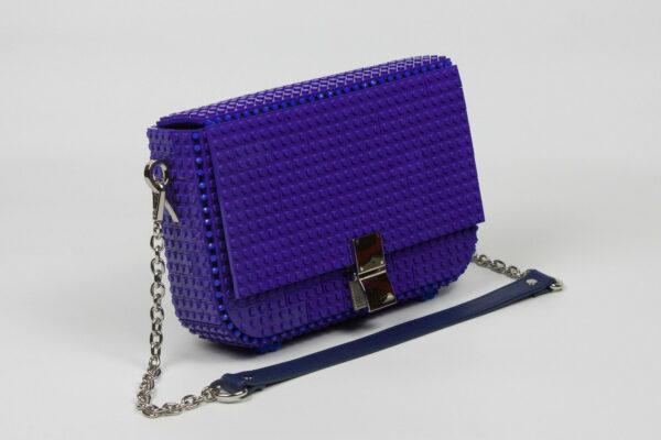 Bolso Lego Clip Bag Ultravioleta