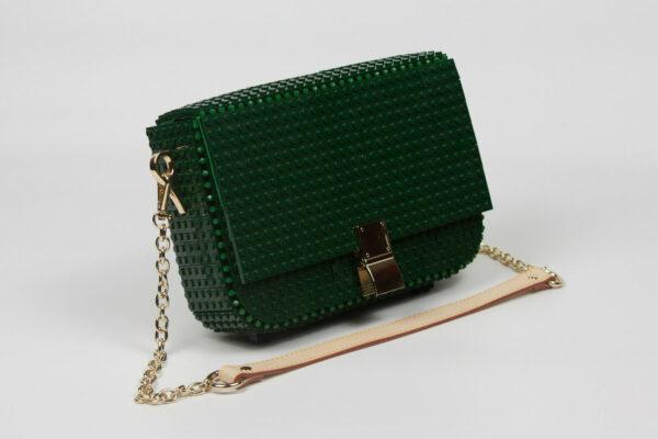 Bolso Lego Clip Bag Verde Bosque