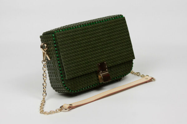 Bolso Lego Clip Bag Verde Militar