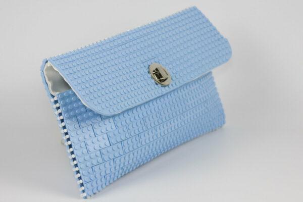 Bolso Lego Clutch Azul Claro