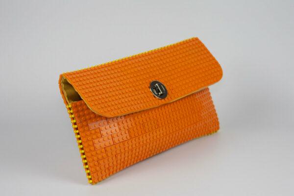 Bolso Lego Clutch Naranja