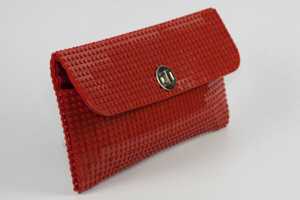 Bolso Lego Clutch Rojo