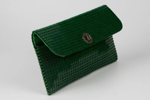 Bolso Lego Clutch Verde Bosque