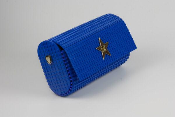 Bolso Lego Cross Over Baguette Azul