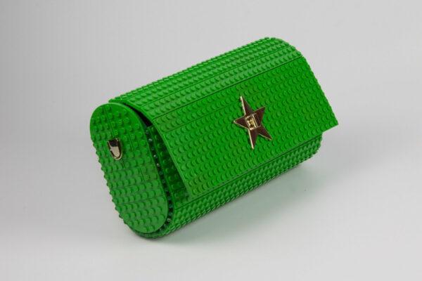 Bolso Lego Cross Over Baguette Super Verde