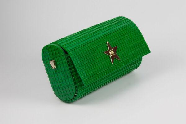 Bolso Lego Cross Over Baguette Verde