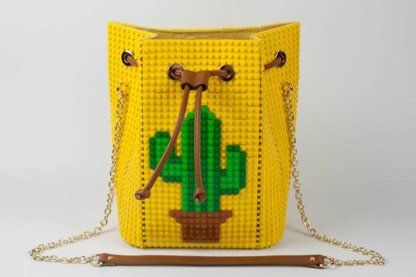 Bolso Lego Personalizado Cactus