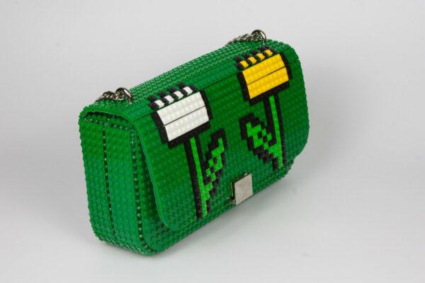 Bolso Lego Personalizado Flores