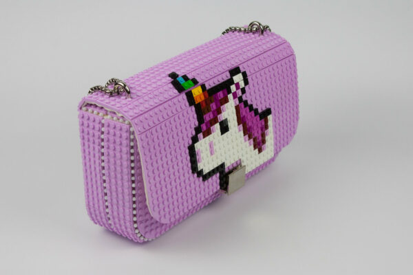 Bolso Lego Personalizado Unicornio