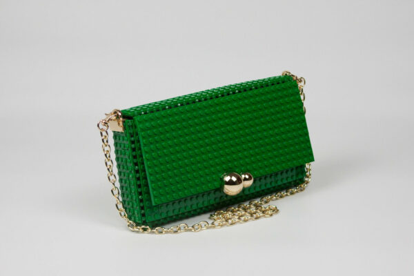 Bolso Lego Squared Clutch Verde