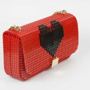 Bolso Lego Personalizado Corazon 3