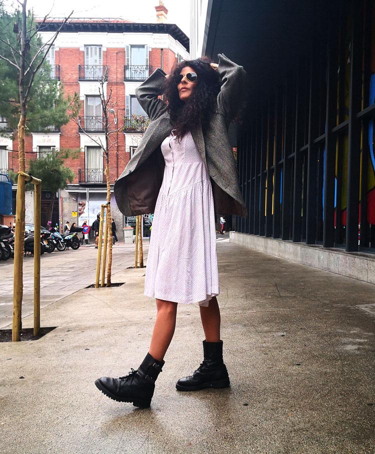 Blog Blazer Vestido Blanco Bastardo