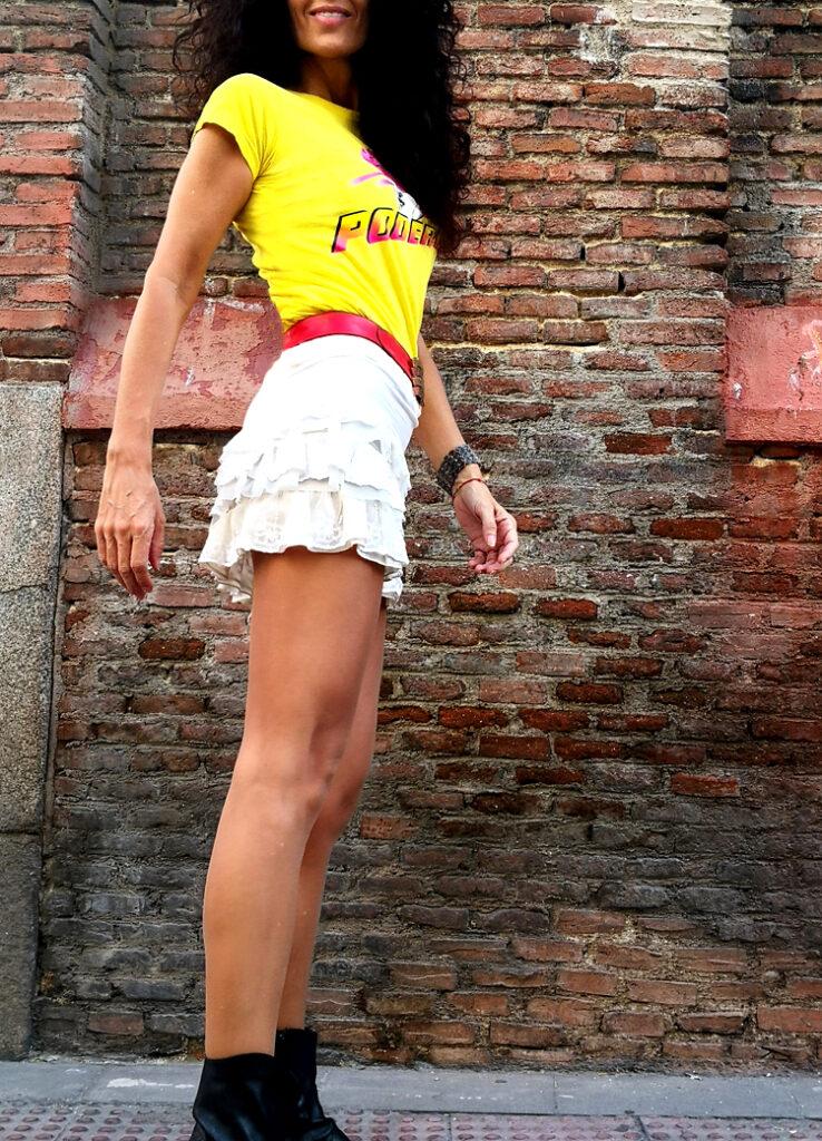Camiseta Minifalda